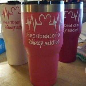 Heartbeat of a Disney Addict - Pink